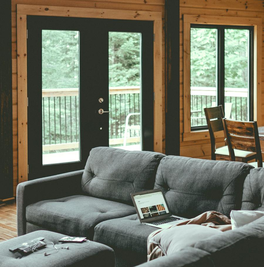 Aluminium French Doors Living Room Woodcraft Windows And Doors